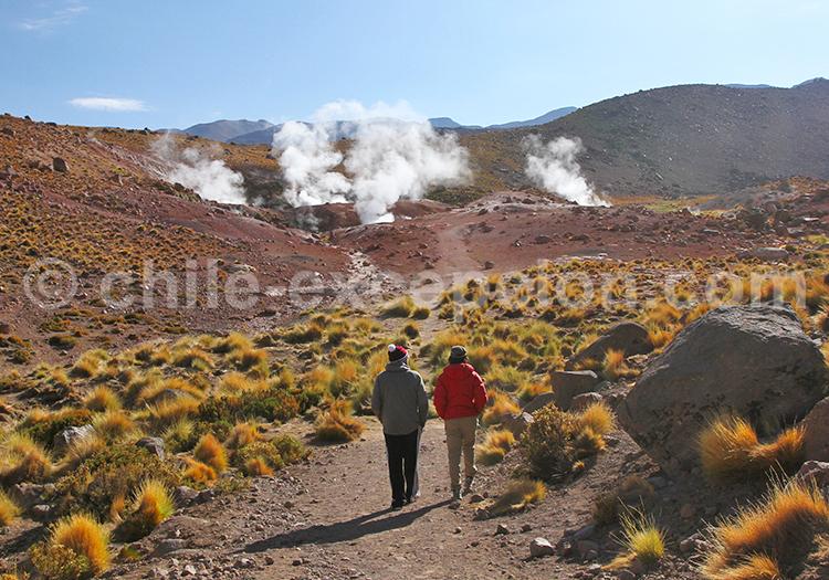 Geysers cachés, San Pédro de Atacama