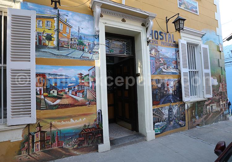 Artistes du Cerro Concepcion, Valparaiso, Chili