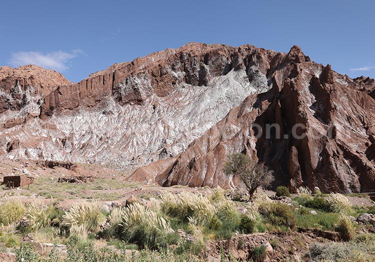 Rio Grande, formations rocheuses