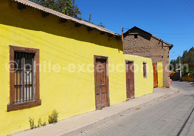 Maison en adobe, Diaguitas, Chili