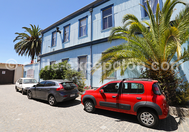 Cerro Alegre, collines de Valparaiso