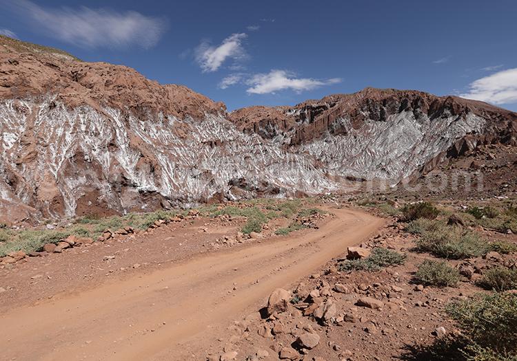 Circuit autotour dans le désert d'Atacama