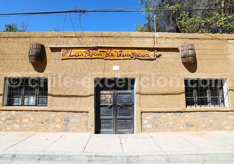 Restaurants dans le village Diaguitas, Chili