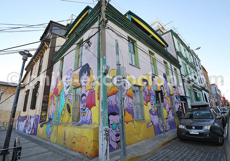 Visite culturelle de Valparaiso