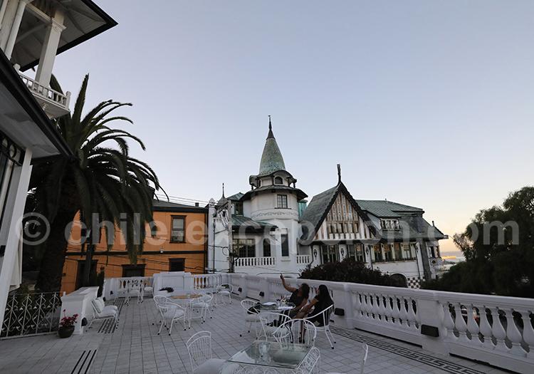 Pause au Cerro Alegre, Valparaiso