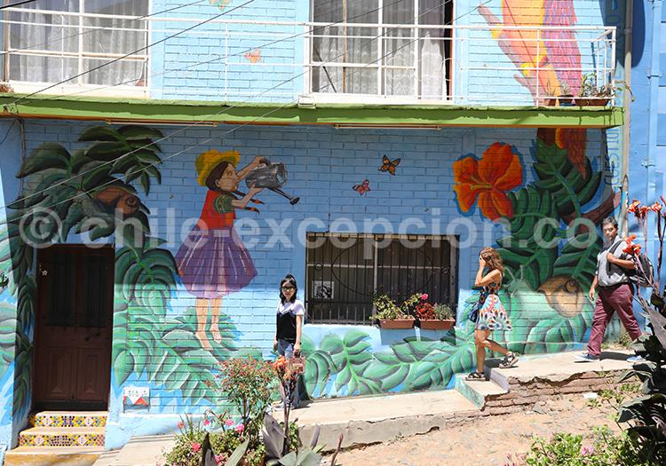 Une journée à Valparaiso, Chile