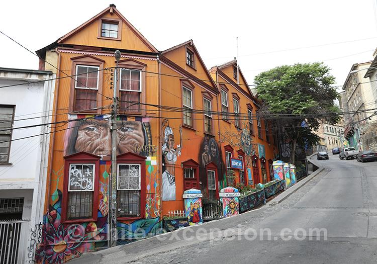 Les maisons originales de Valparaiso, Cerro Concepción