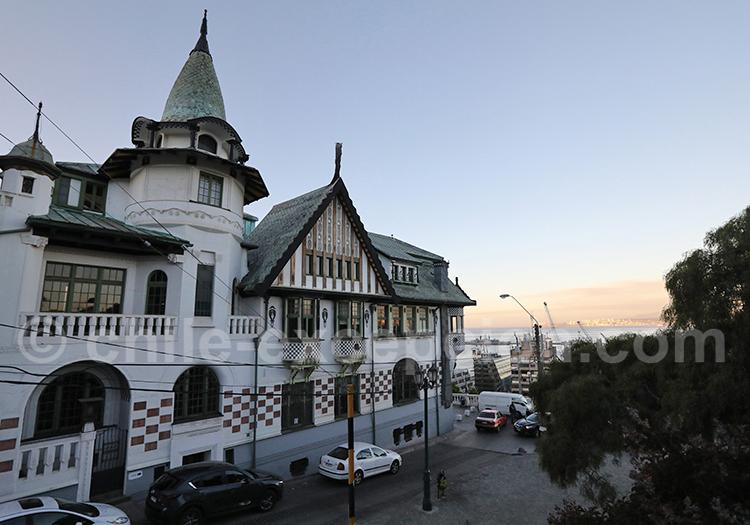 Palacio Baburizza, Cerro Alegre, Valparaiso