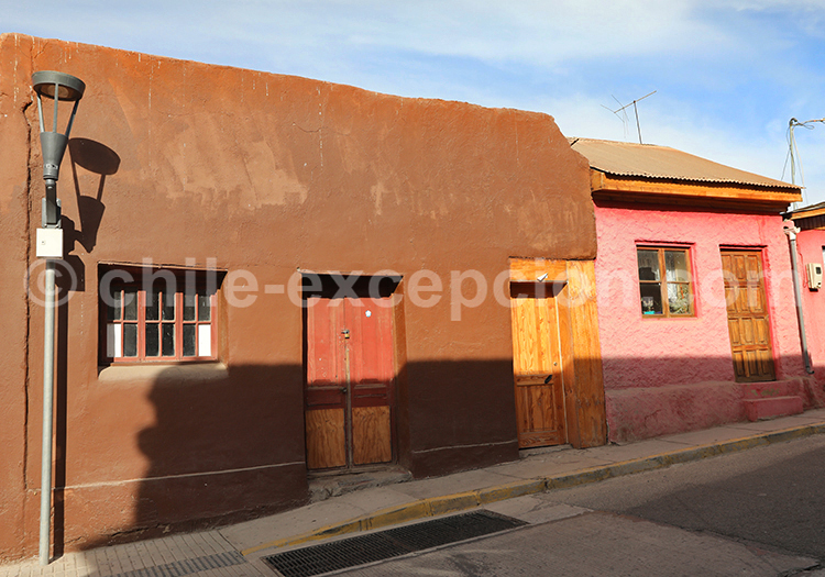 Ville minière d'Andacollo, Chili