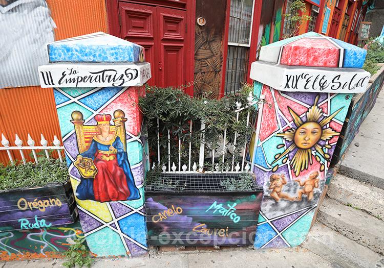 Les portails originaux de Valparaiso, Cerro Concepción