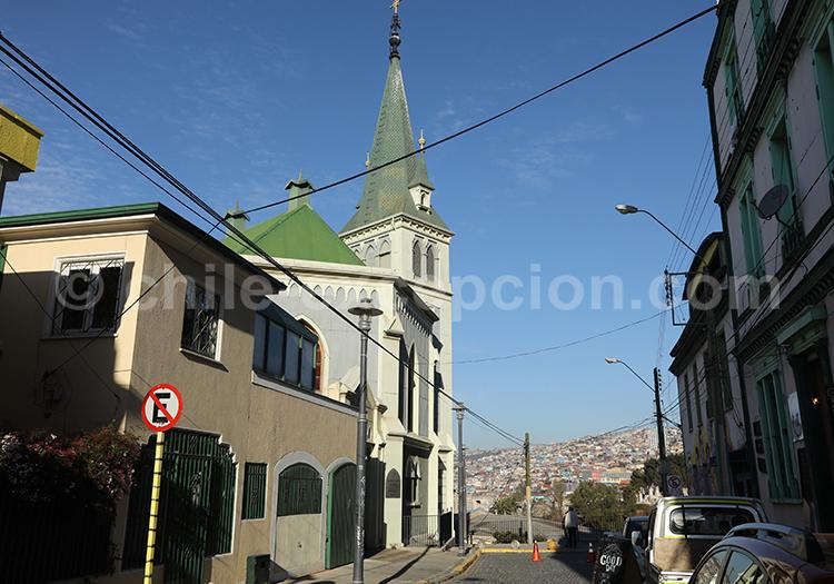 Iglesia luterana del Cerro Concepcion, Valparaiso
