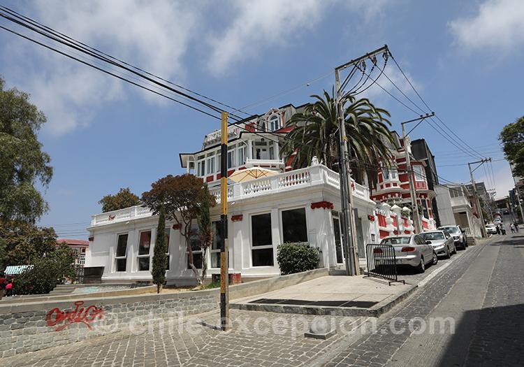 Hotel Palacio Astoreca, Valparaiso avec l'agence de voyage Chile Excepción