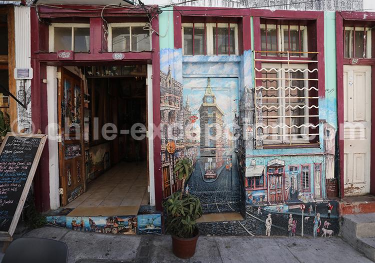 Découvrir le Cerro Concepción, Valparaiso