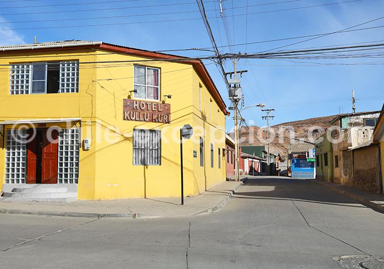 Ville d'Andacollo, Chili