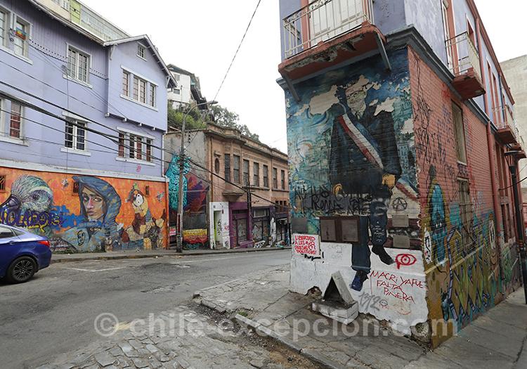 Que voir au Cerro Concepción de Valparaiso