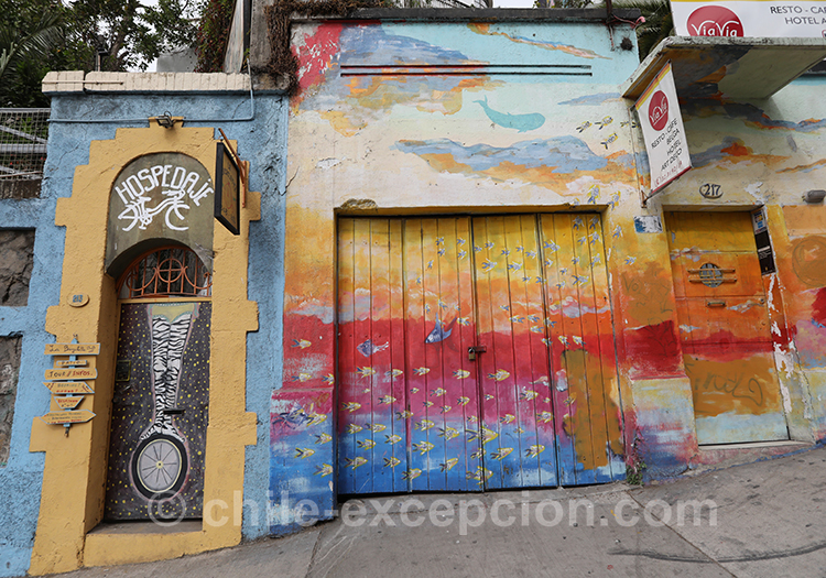 Valparaiso, ville intéressante du Chili, Cerro Concepción
