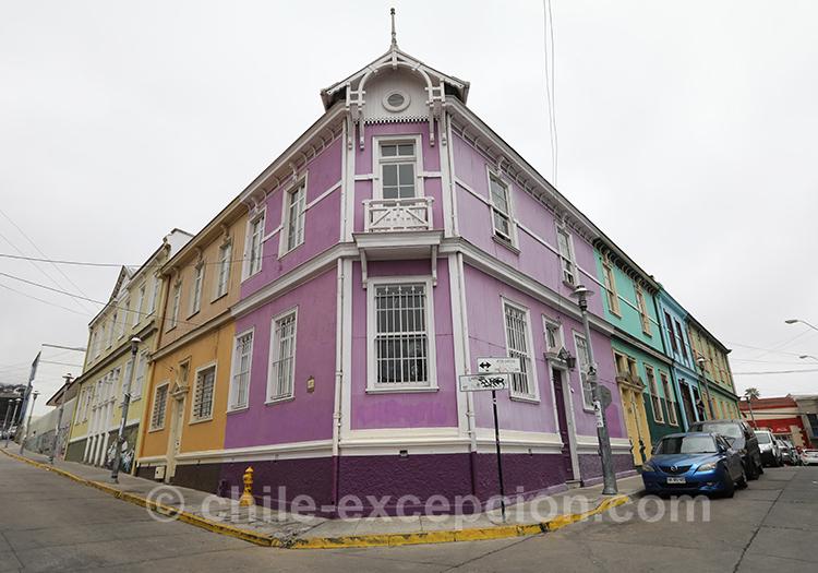 Maison violette du Cerro Concepción, Valparaiso