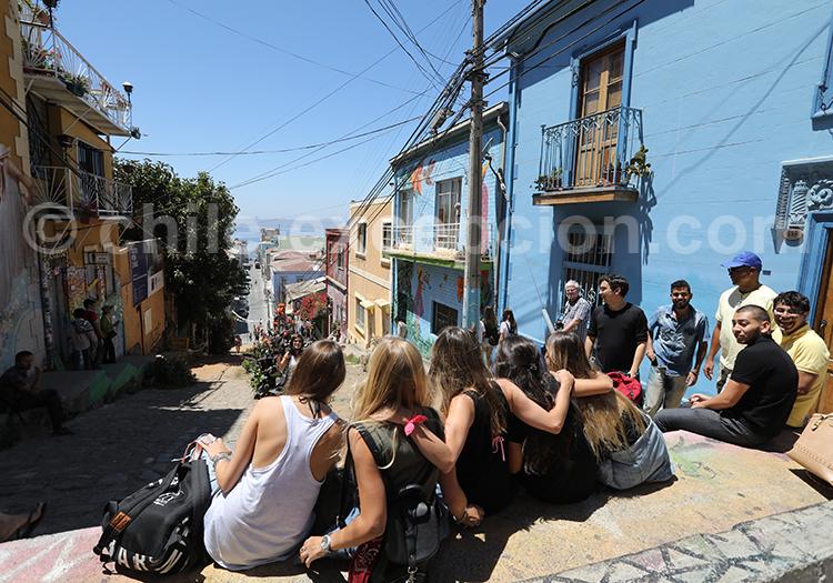 Touristes, Valparaiso