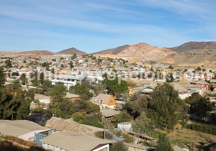 Village Andacollo, Nord du Chili