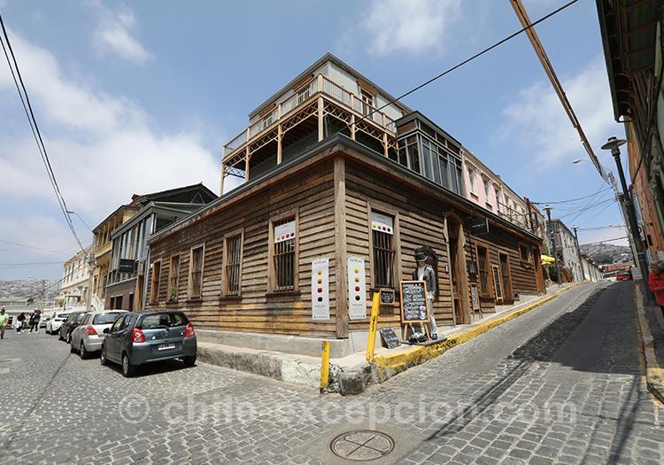 Connaitre le Cerro Concepción, Valparaiso, Chili
