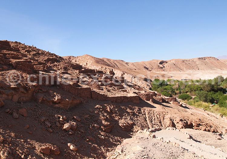 Balade, Ruines de Quitor, San Pedro de Atacama