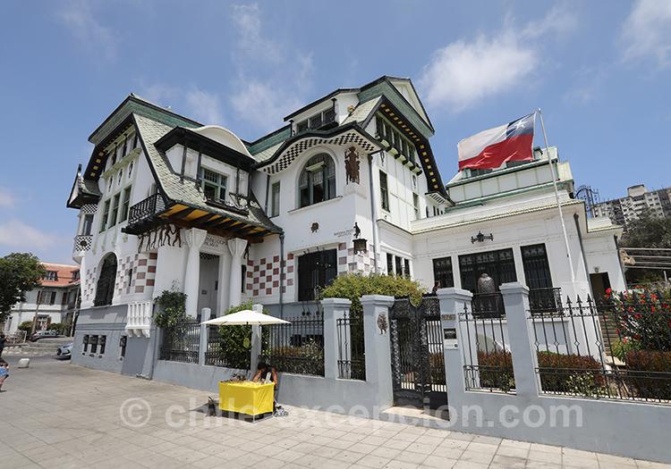 Palacio Baburizza, Valparaiso, Chili avec l'agence de voyage Chile Excepción