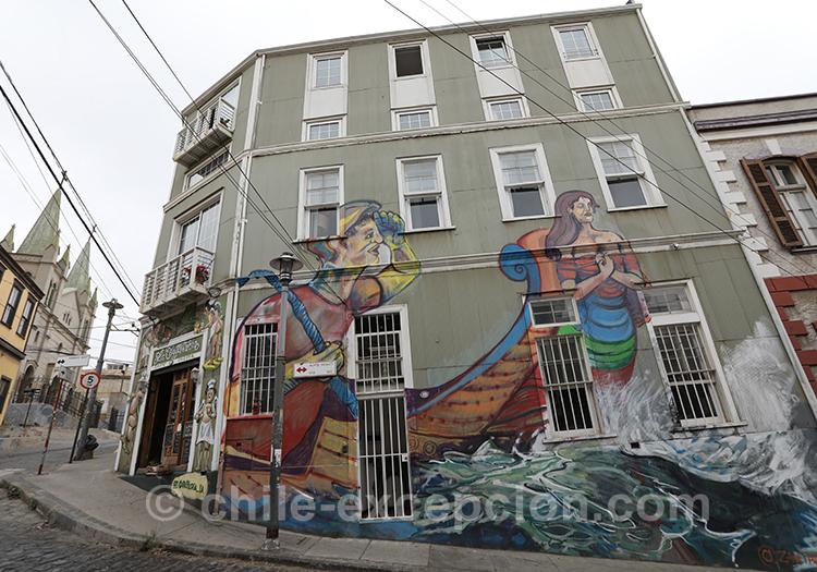Cité artiste, Valparaiso et ses rues colorées, Cerro Concepción