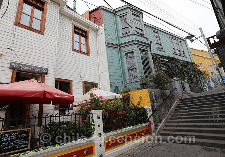 Pourquoi visiter Valparaiso, ville magique, Cerro Concepcion