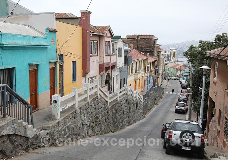 Partir au Chili et visiter Valparaiso, Cerro Concepcion