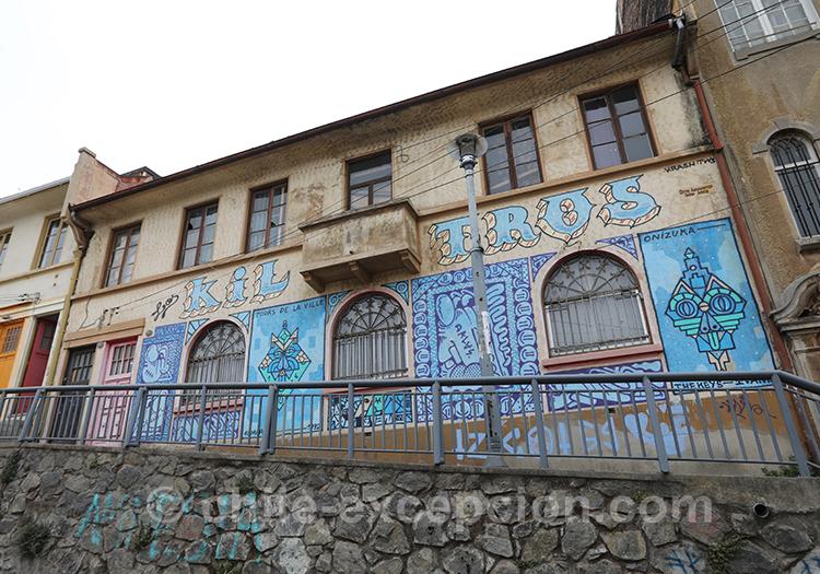 Parcourir les rues de Valpo et son street art