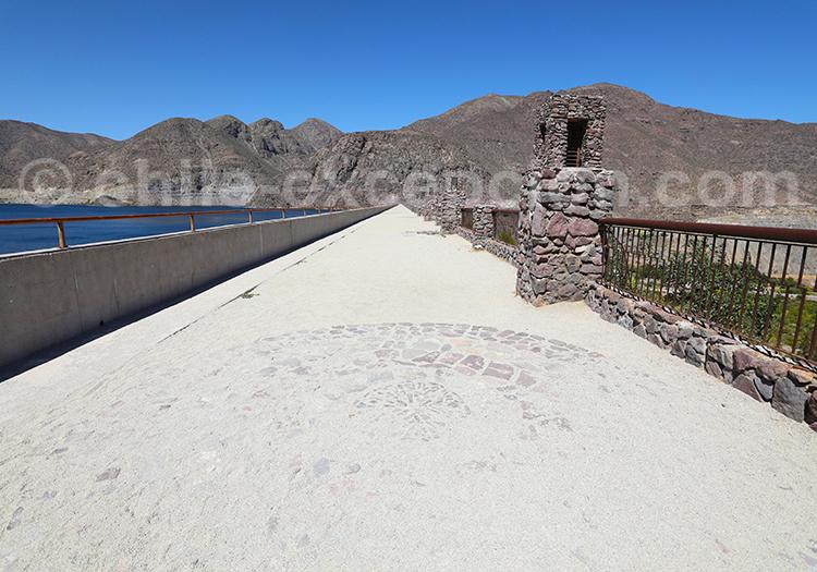 Barrage de Puclaro, Chili