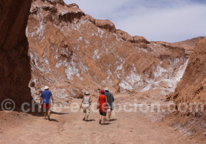 Entrée de la vallée de Marte, Atacama