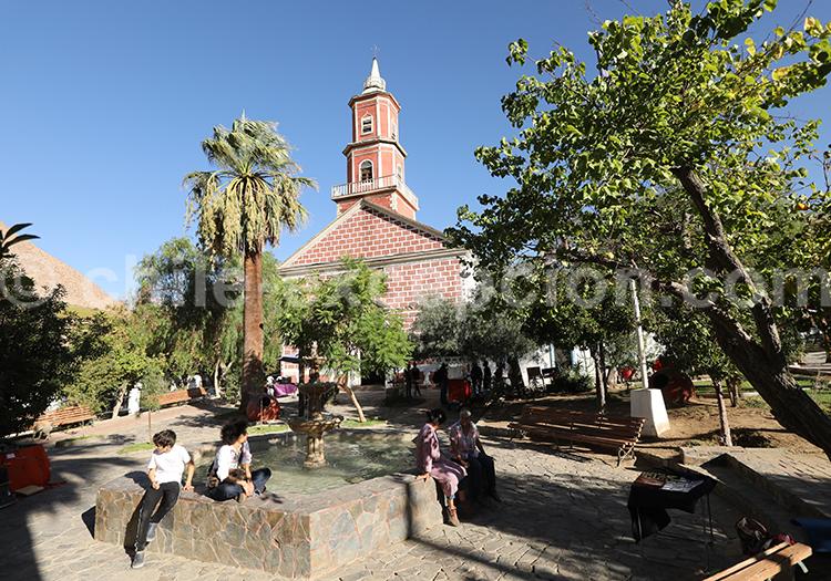 Place du village de Monte Grande
