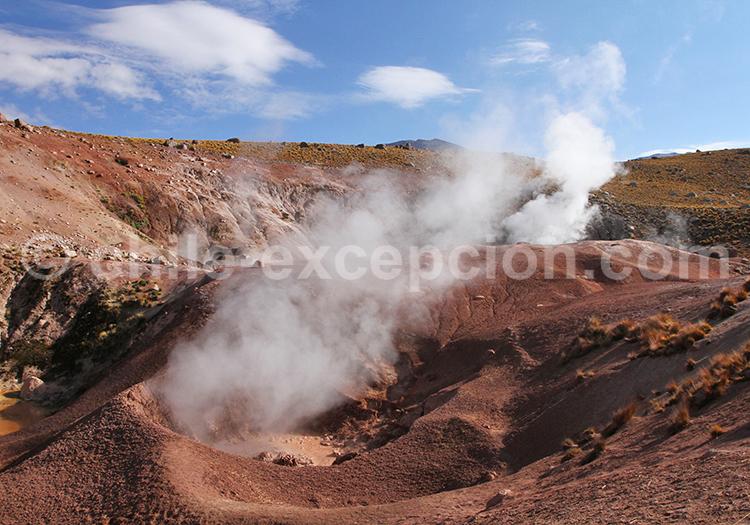 Geysers près de San Pedro de Atacama