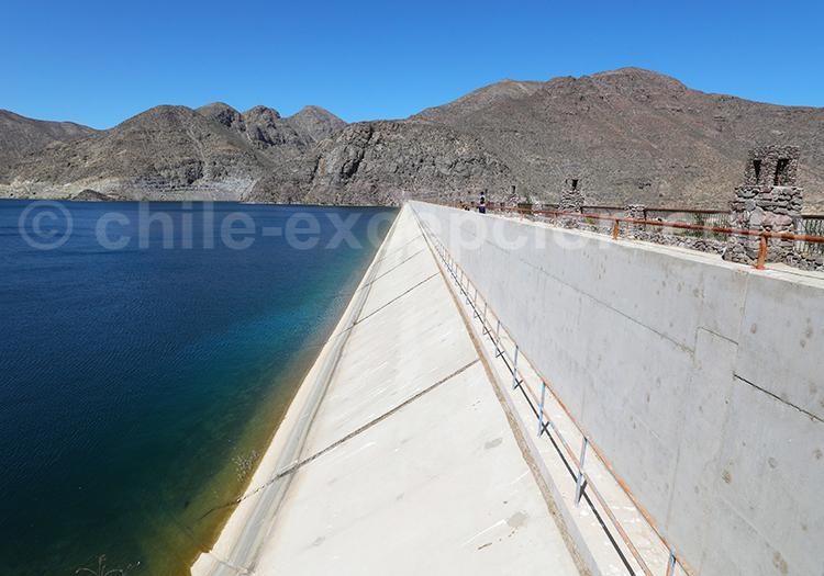 Visite libre du barrage de Puclaro, Vallée de l'Elqui