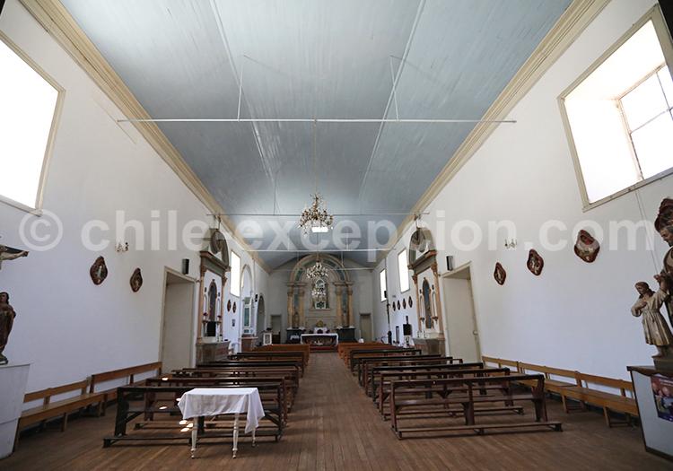 Église Notre-Dame de Rosaire, Diaguitas, Vallée de l'Elqui