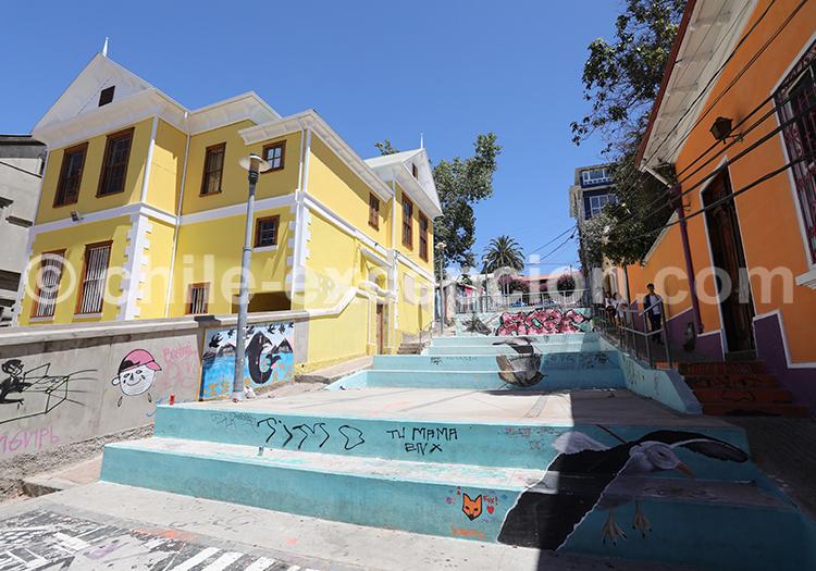 Tourisme à Valparaiso, Chili
