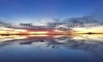 Uyuni au soleil couchant