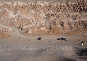 Surf dans les dunes de la vallée de la Mort