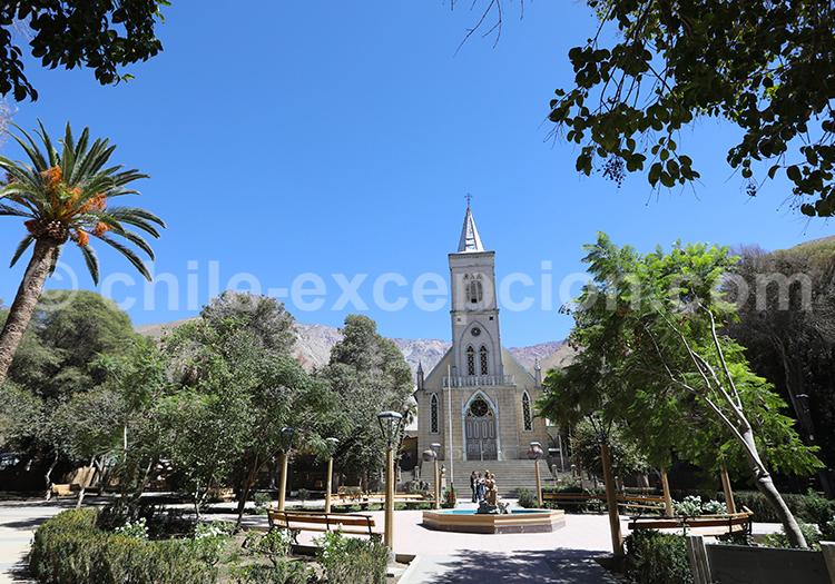 Église Notre-Dame de Rosaire Pisco Elqui, Chili