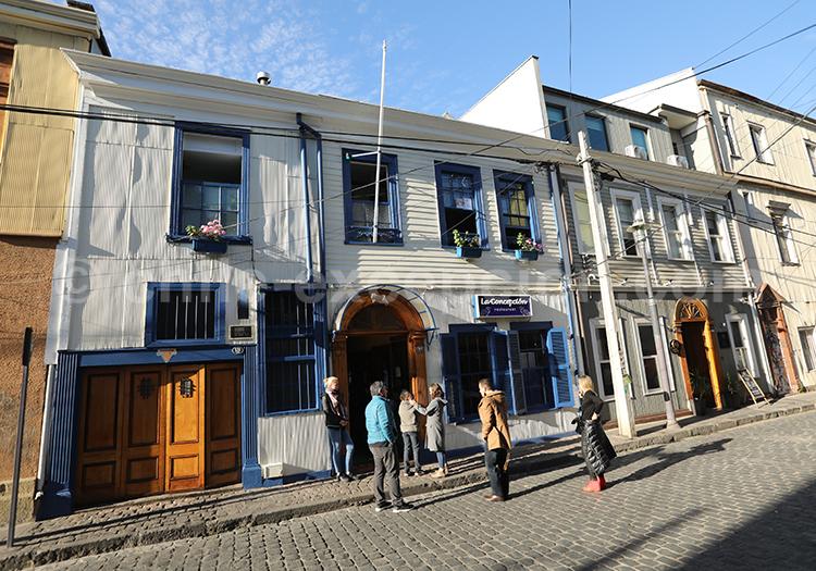 Séjour à Valparaiso, Chili