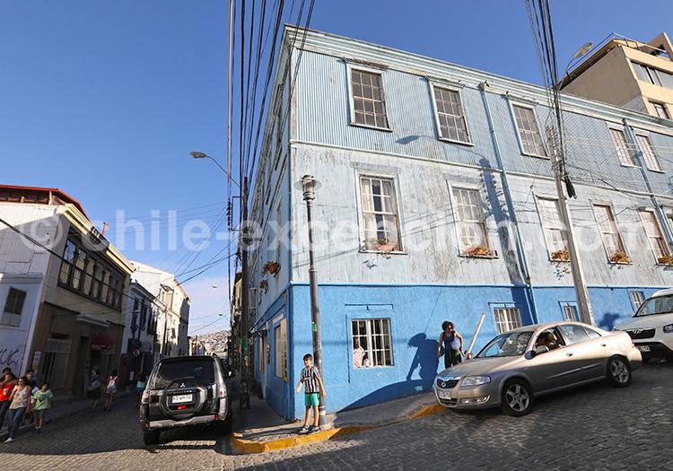 Colline Concepción, Valparaiso