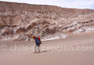 Randonnée vallée de Marte, Atacama