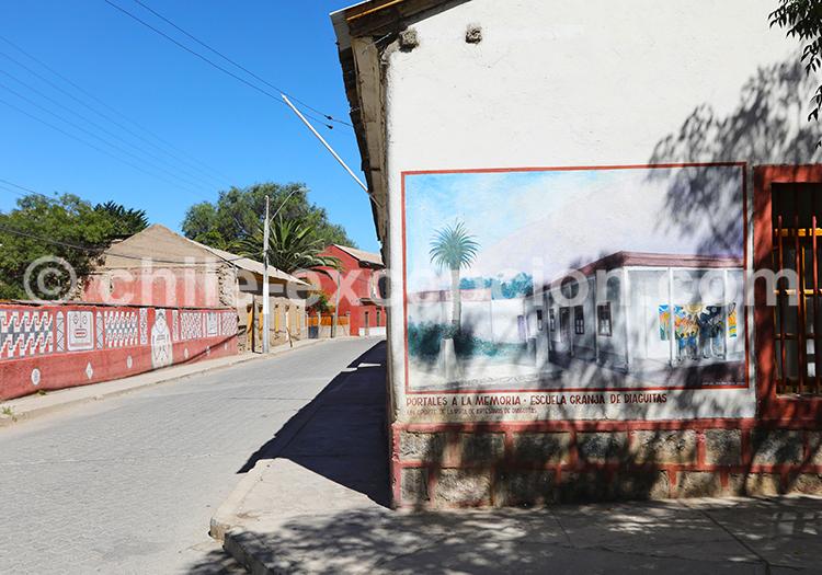 Escuela granja de Diaguitas, Valle del Elqui