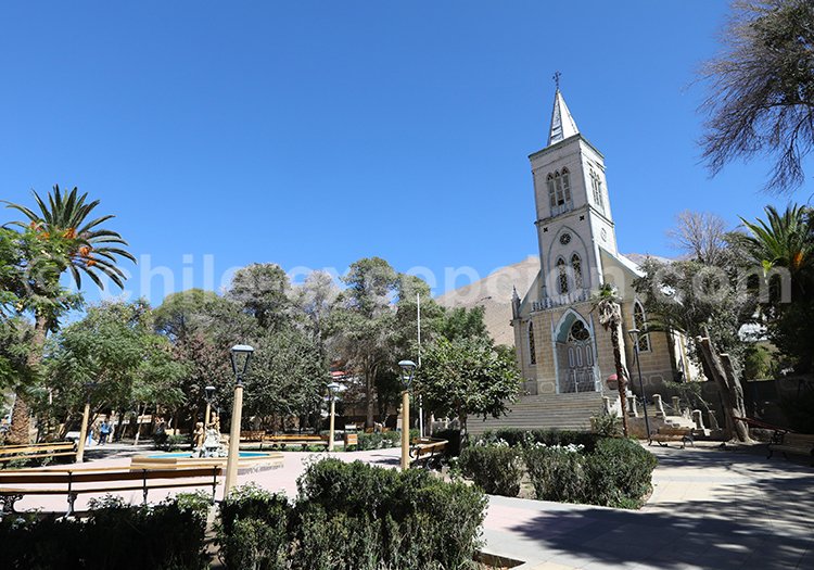 Iglesia, Nuestra Señora del Rosaria, Pisco, Vallée de l'Elqui