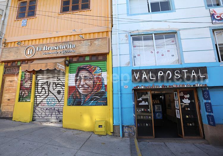 Restaurant et boutique du Cerro Concepcion, Valparaiso
