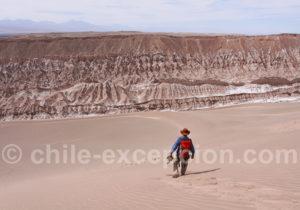 Trekking dans la vallée de la Mort