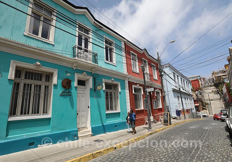 Quel quartier de Valparaiso voir, le cerro Concepción