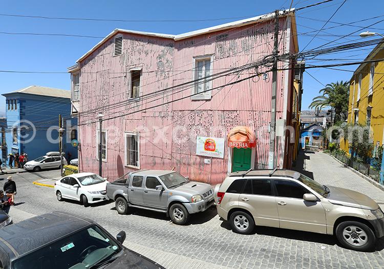 Visite du Cerro Concepción, Valparaiso