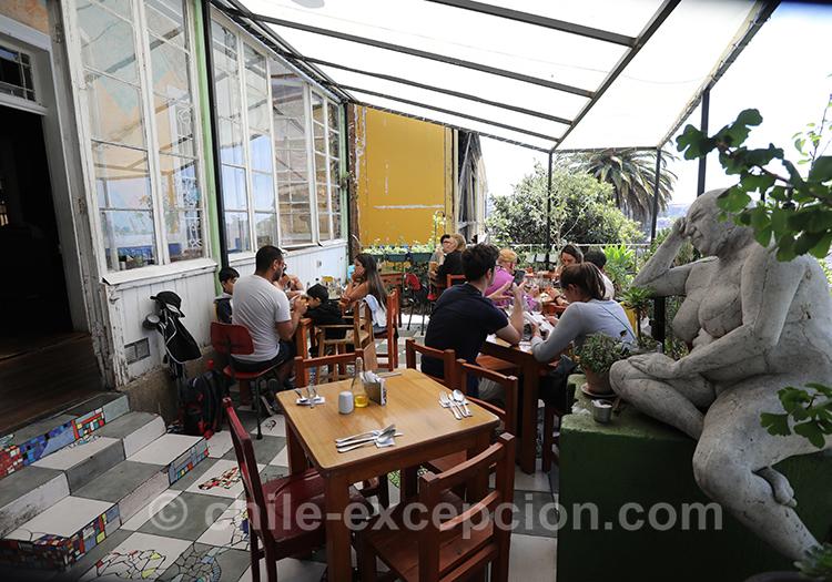Restaurant El Peral, Cerro Alegre, Valparaiso avec l'agence de voyage Chile Excepción
